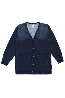 AWESOME IMAGINATIONOmbre Button-Down Cardigan