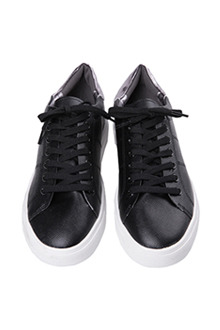 Thick-Soled Textured Sneakers