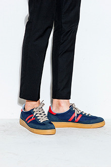 Multicolored Low Cut Sneakers