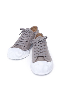 Ribbed Accent Low Cut Sneakers