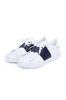 Two Tone Padded Sneakers