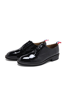 High Gloss Enamel Loafers