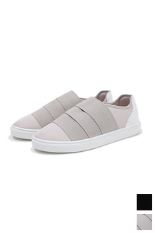 Banded Slip On Shoes