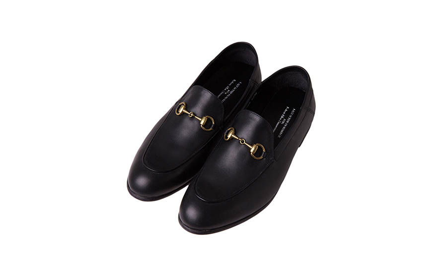 Apron Toe Bit Loafers