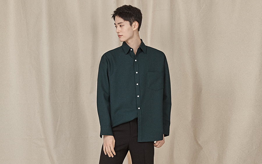 Patch Pocket Button-Down Shirt