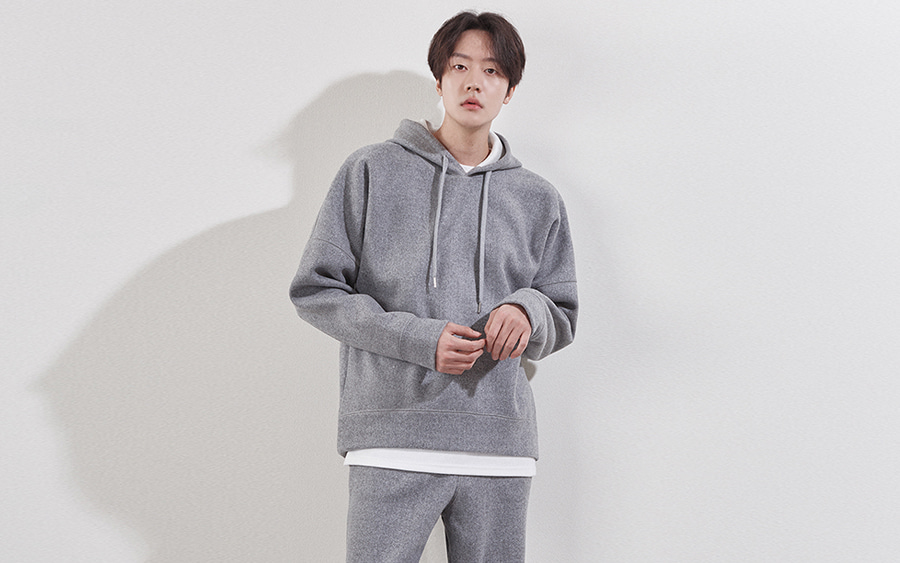 Basic Drop Shoulder Hoodie