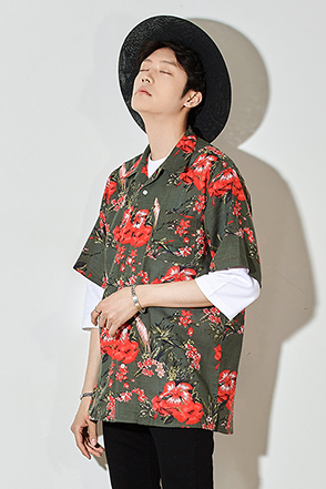 Hawaiian Print Short Sleeve Shirt