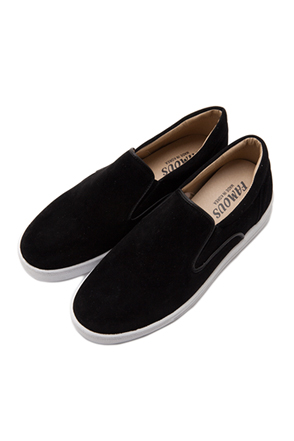 Piped Slip-Ons