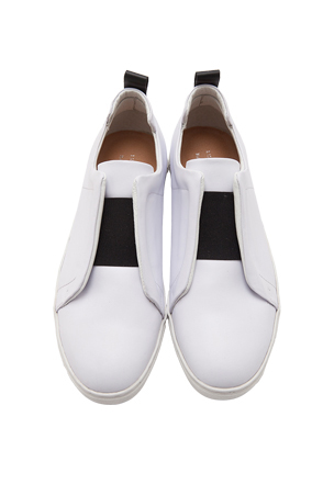 Wide Band Slip-On Sneakers