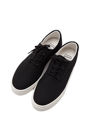 Classic Solid Tone Sneakers