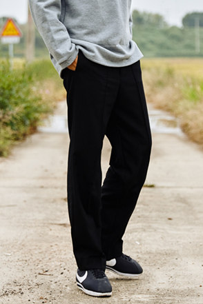 AWESOME IMAGINATIONPintuck Accent Slacks(Black)