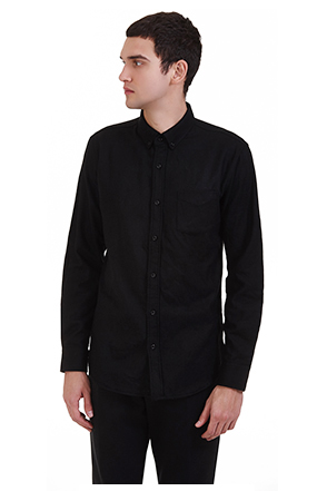 Classic Chest Pocket Button-Up Shirt