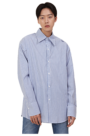 Classic Striped Cotton Shirt