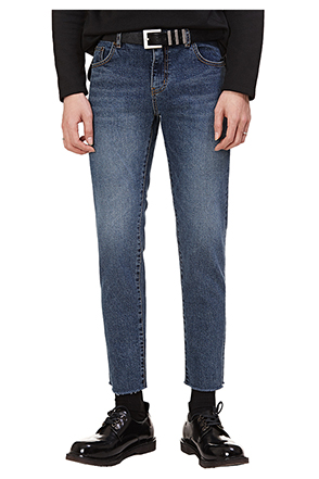 Basic Fit Ankle Grazer Jeans