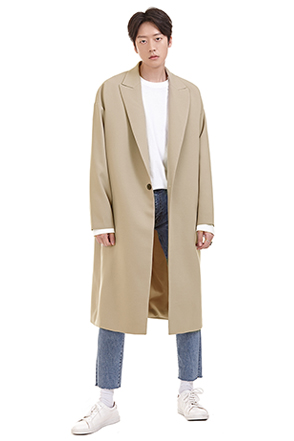 Loose Fit Overcoat