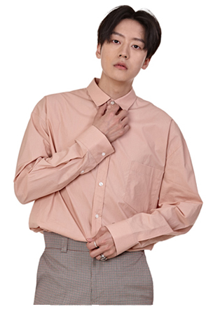 Solid Tone Basic Button-Down Shirt