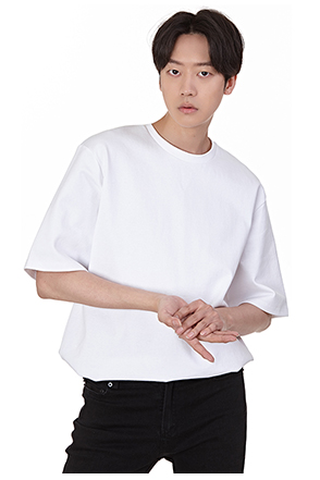 Loose Fit Half Sleeve Cotton T-Shirt