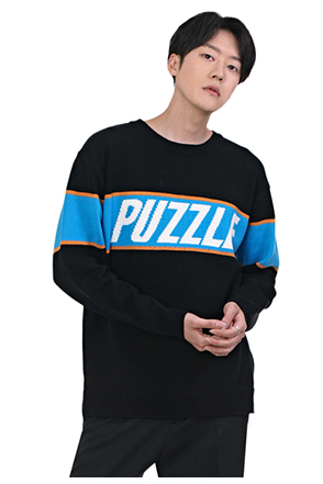 PUZZLE Knit Sweater