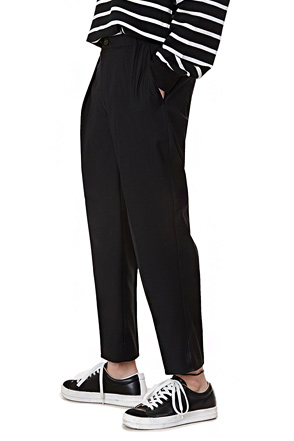 Semi-Banded Waist Trousers
