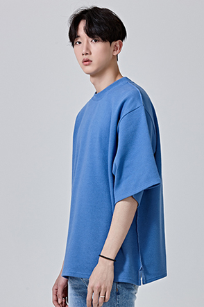 Loose Fit Three-Quarter Sleeve T-Shirt