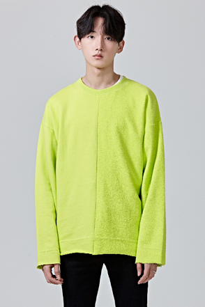 Paneled Long Sleeve Pullover