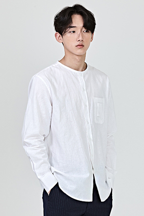 REDHOMMEPatch Accent Chest Pocket Shirt