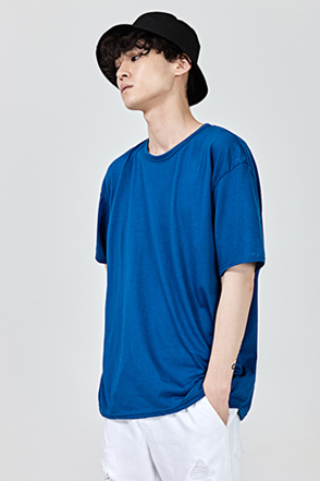 Basic Relaxed Fit Half Sleeve T-Shirt