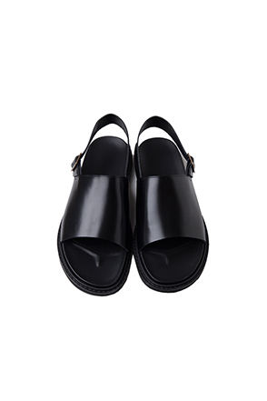 Classic Wide Band Slingback Sandals