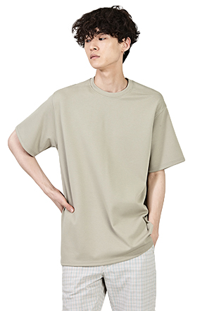 Basic Loose Fit Half Sleeve T-Shirt