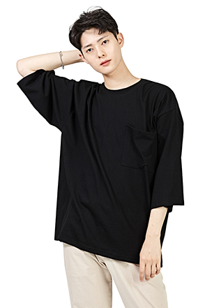 Classic Two-Third Sleeve T-Shirt
