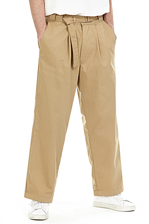 Loose Leg Belted Trousers