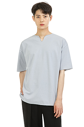 Classic Split Neck Shirt
