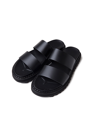 Lugged Sole Slippers