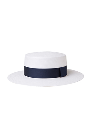 Wide Brim Boater Hat