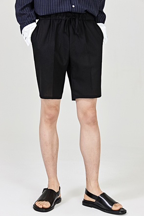 Tapered Leg Drawstring Shorts