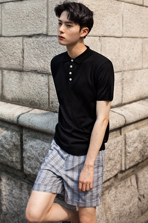 Basic Single Tone Polo Shirt
