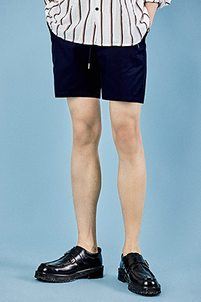 Single Tone Thigh-Length Shorts