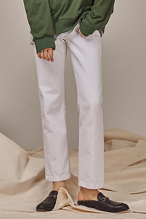 Straight Leg Solid Tone Pants