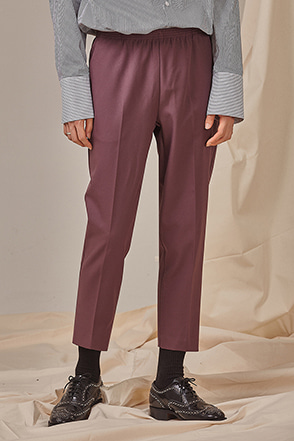Classic Cropped Pull-On Slacks