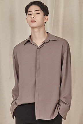 Standard Concealed Button Shirt