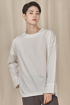 Round Neck Long Sleeve Shirt