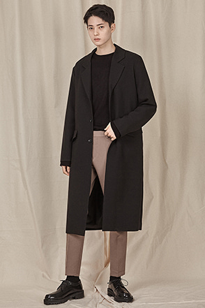 Classic Two-Button Coat