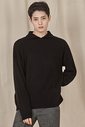 Cutaway Collar Long Sleeve Shirt