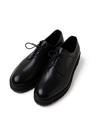Lugged Sole Derby Shoes