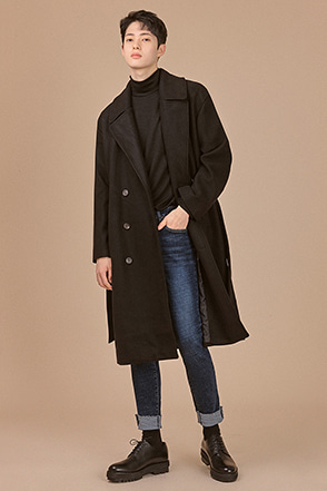 Classic Belted Coat