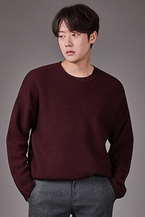 Ribbed Long Sleeve Sweater