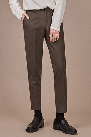 Ankle Grazer Tapered Leg Slacks