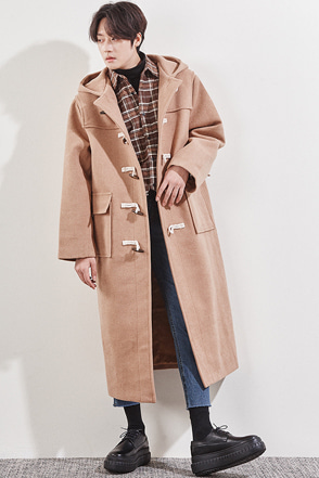 Hooded Duffel Coat