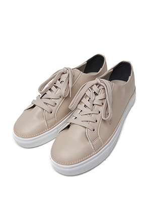 Synthetic Leather Low-Top Sneakers