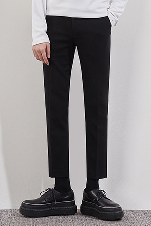 Solid Tone Ankle Pants